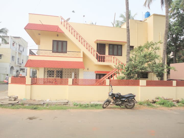 It is a fully furnished 3BHK with 2