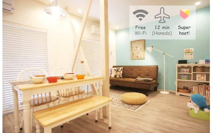 Easy access to Shibuya, Central city & Airport!