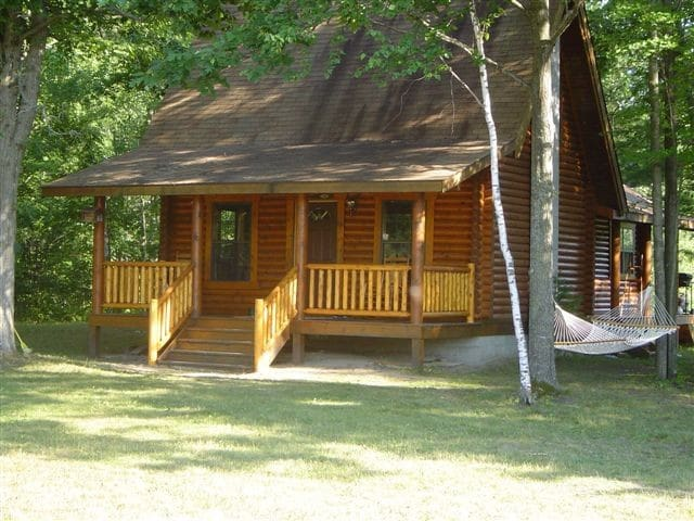 Log Cabin on Rifle River
