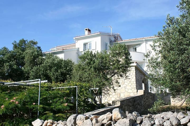 Studio flat with balcony and sea view Jakišnica, Pag (AS-6584-a) - Lun - Altres