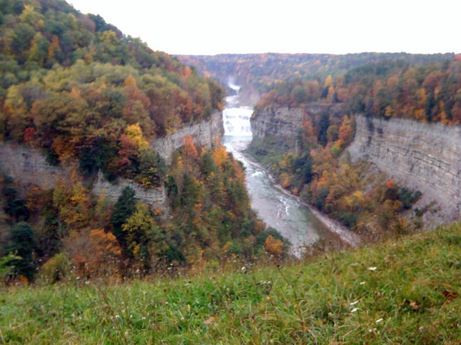 """The """"Grand Canyon of the East - Letchworth State Park"""