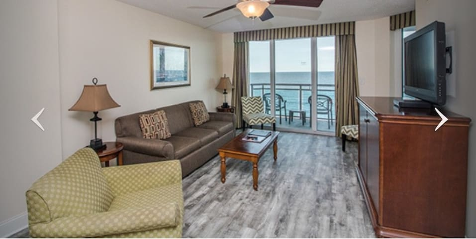 N. Myrtle Beach Oceanfront 3 Bedroom Luxury Condo
