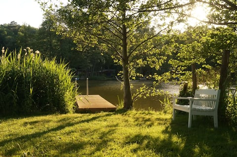 Small apartment on the lake - Luisenhof Molchow