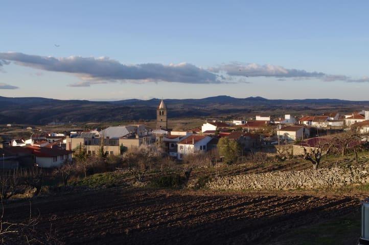 Cabaña del madera Miraduero en Arribes del Duero