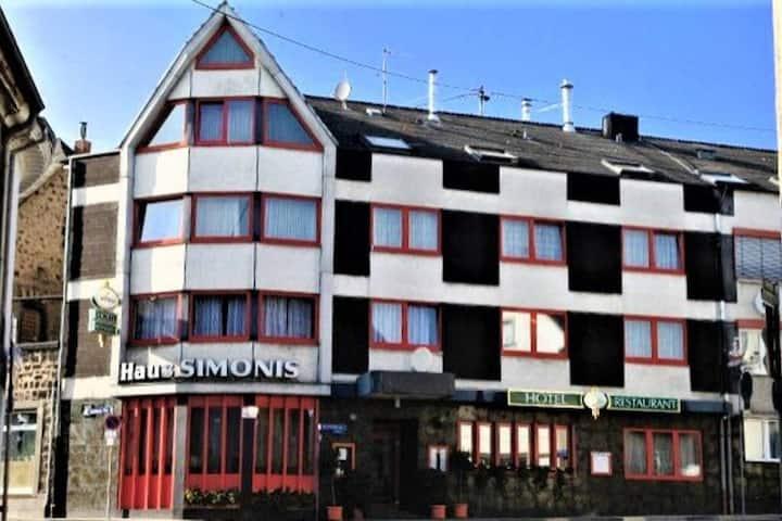 Hotel Simonis Doppelzimmer + Einzelzimmer