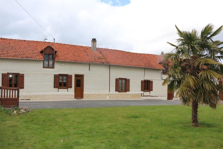 la maison au puits - Freulleville