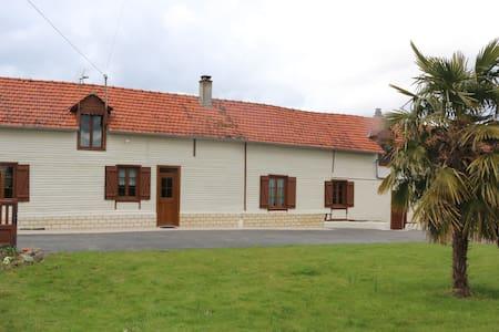la maison au puits - Freulleville - บ้าน