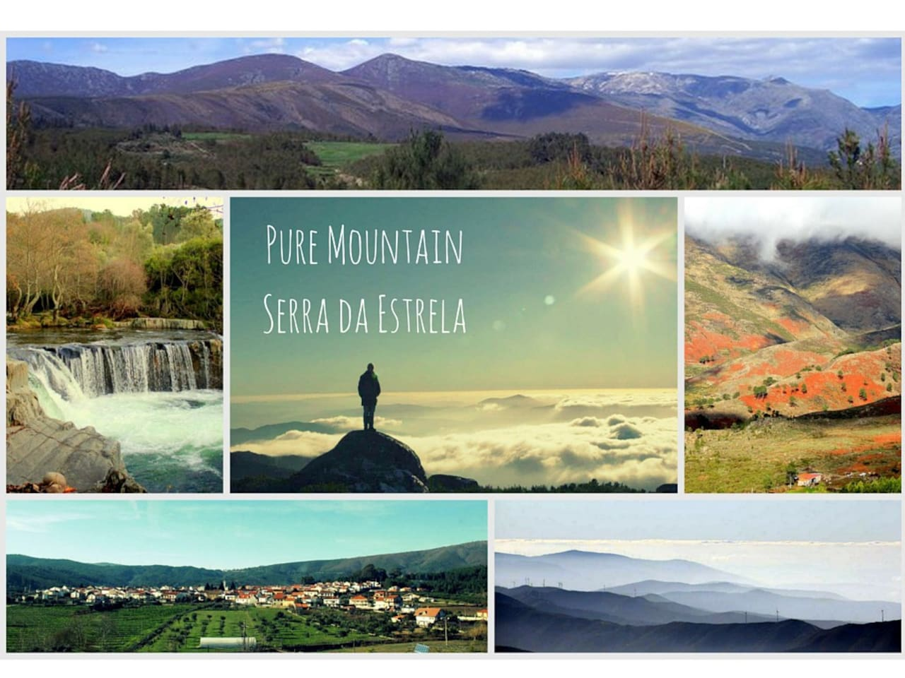 Pure Mountain, is what you can expect by visiting this cute village near Serra da Estrela.