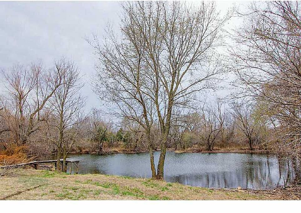 spring fed fishing pond