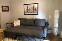 Fold Out Couch -Living Room
