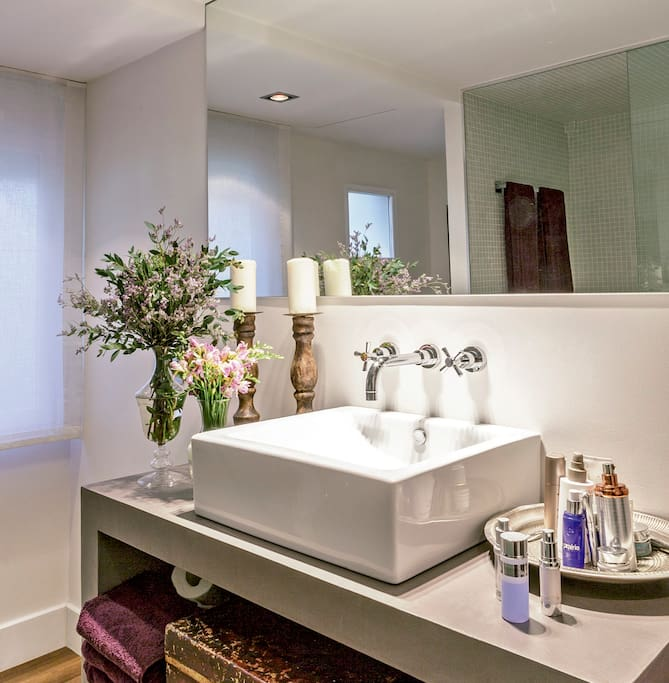 Baño suite en dormitorio principal