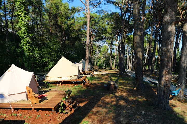 Camp 'Dvor' bell tents / Bell tent 'Levant'