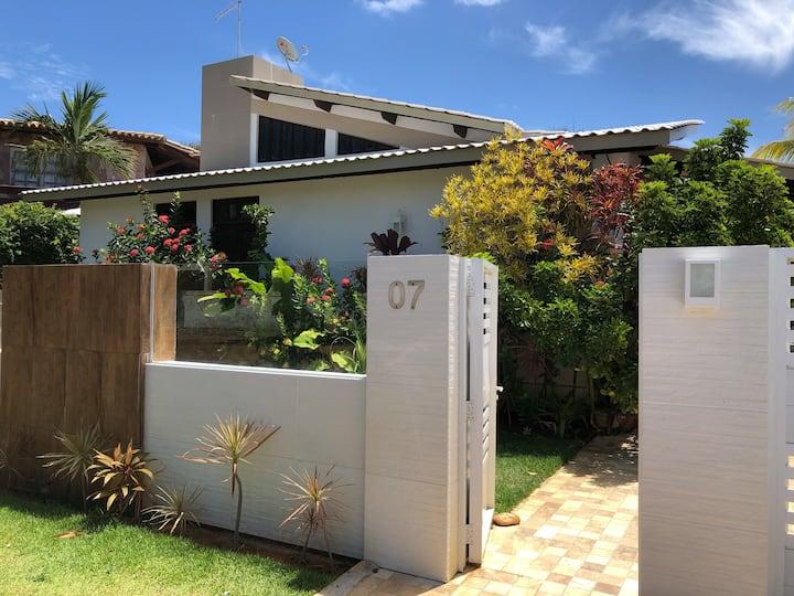 LINDA Casa em Guarajuba, Climatizada, Wi-Fi