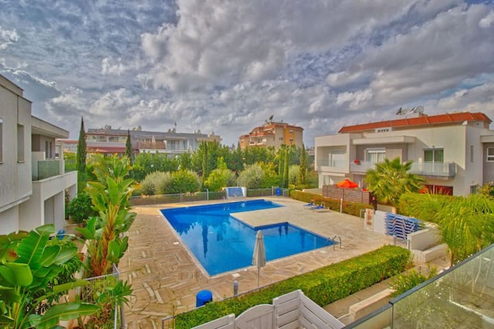 2-bedroom townhouse in tourist area - Germasogeia - Cottage