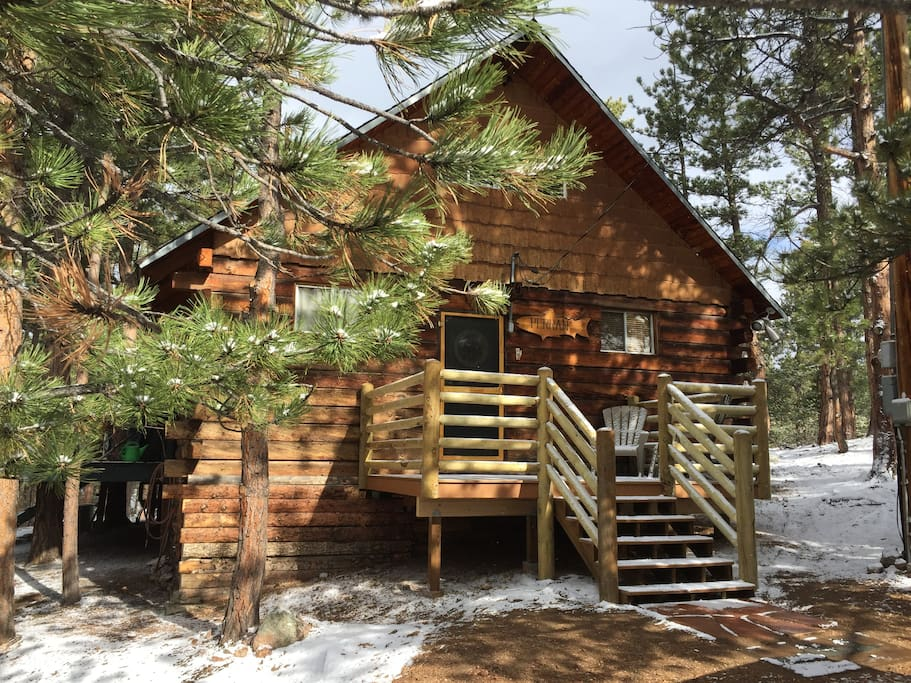 Rocky mountain cabin cabins for rent in florissant for Mountain cabin rentals colorado