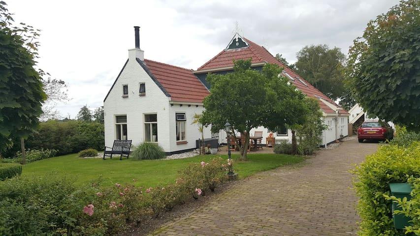 Idyllisch gelegen B&B platteland - Jonkersland - Penzion (B&B)