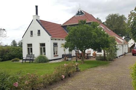 Idyllisch gelegen B&B platteland - Jonkersland