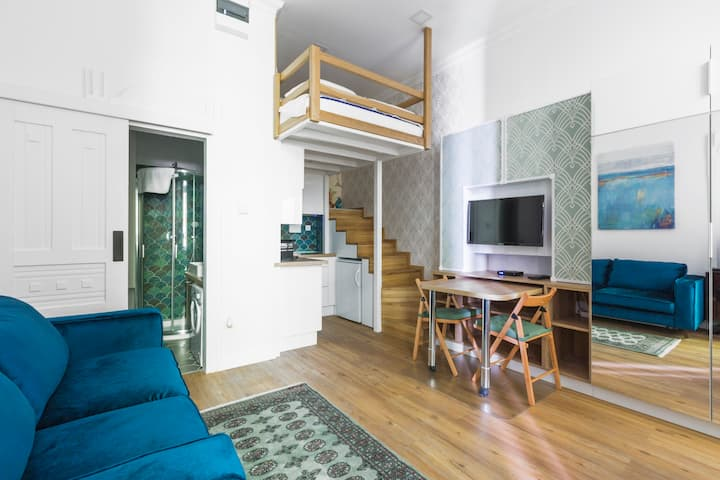 ❤Budapest city studio(22sqm)next to the Parliament