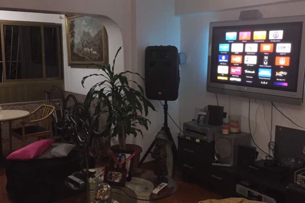 Sala/salón de tv