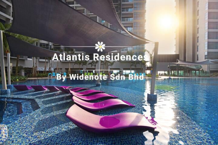 Resort style swimming pool @ Atlantis Residences