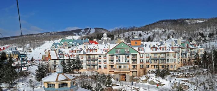 Charming Suite One Bedroom At Mont Tremblant