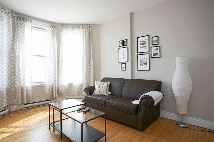 Spacious, location, fresh, clean, - Montréal - Apartment