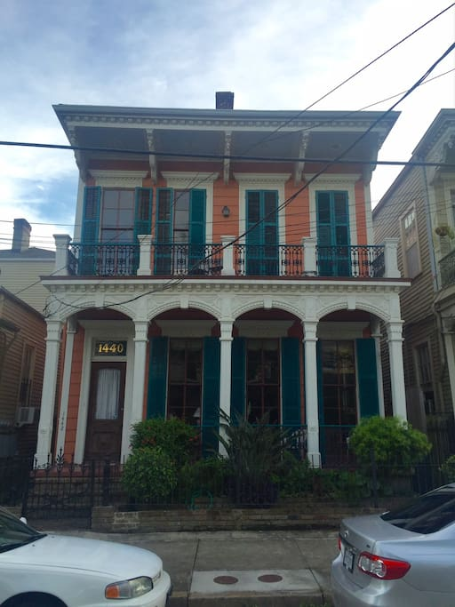 Historic Garden District 1 Block From Street Car Flats For Rent In New Orleans Louisiana