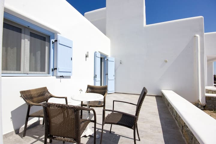 Two storey modern apartment in Mykonos