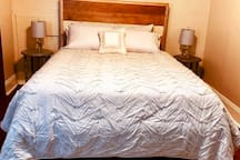 all new queen bed
