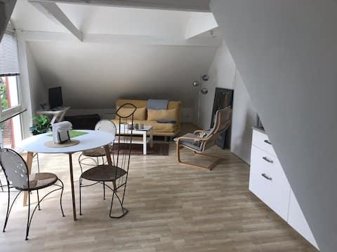 Moderne Ferienwohnung in idyllischer Stadtrandlage