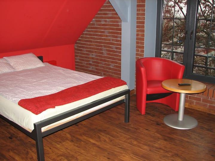 Hostel Fabryka - pokój nr 14 (czteroosobowy)