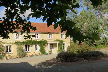 Family Suite (B) B & B for 4 adults and 3 children - Tallud-Sainte-Gemme
