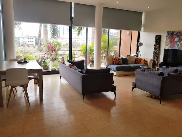 Double Room in Modern, Spacious Apartment