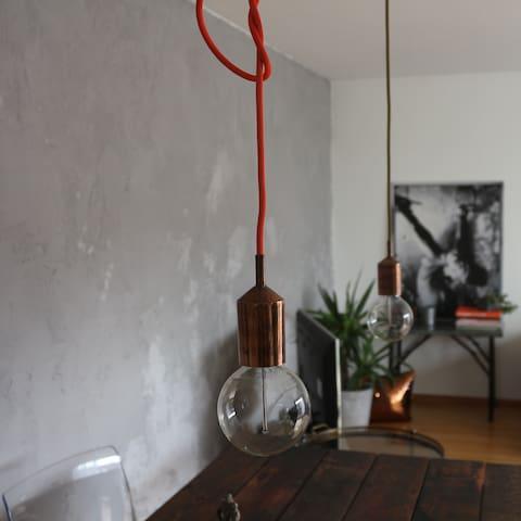modern, lichtdurchflutet nähe Basel - Eimeldingen - Appartement