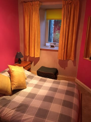 Spare room in welcoming flat