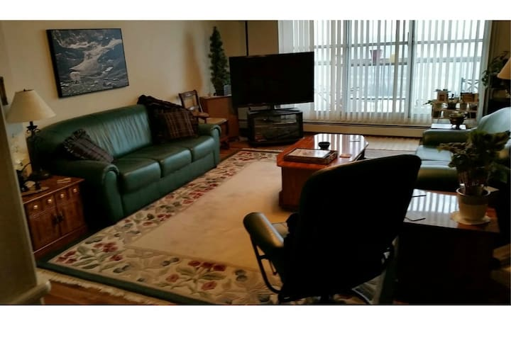 Luxury Condo Near Downtown Overlooks River Valley