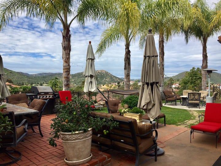 Mediterranean Villa in San Diego Suburbs!