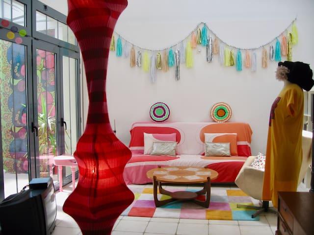 Jolie maison/loft d'artiste