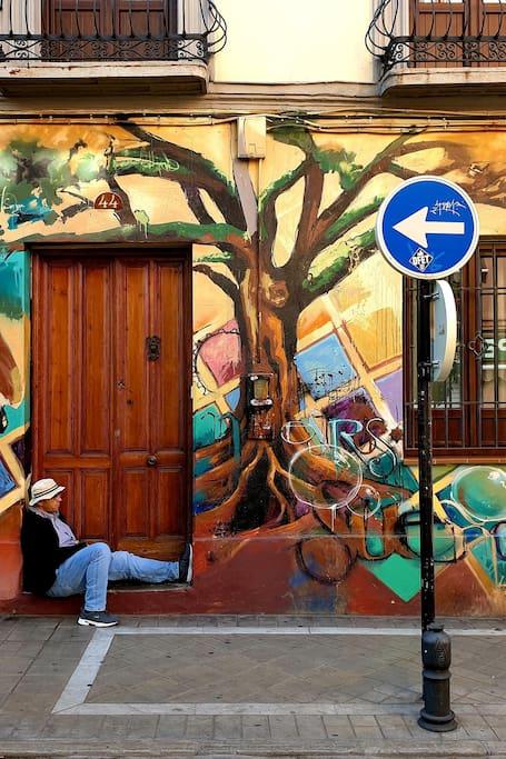 Street Art in Realejo,