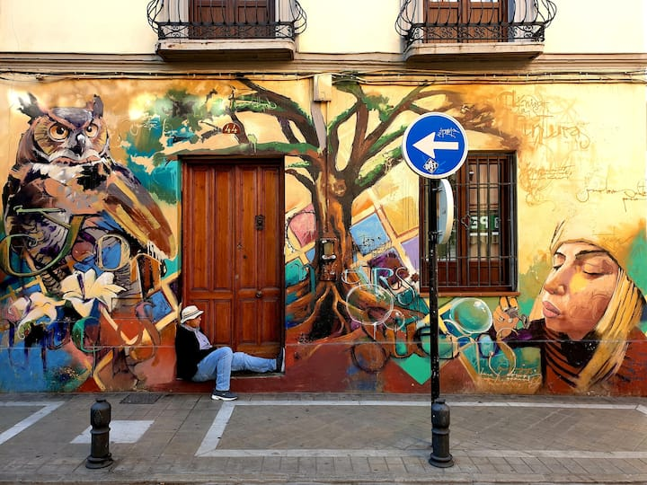 Street Art in Realejo,
