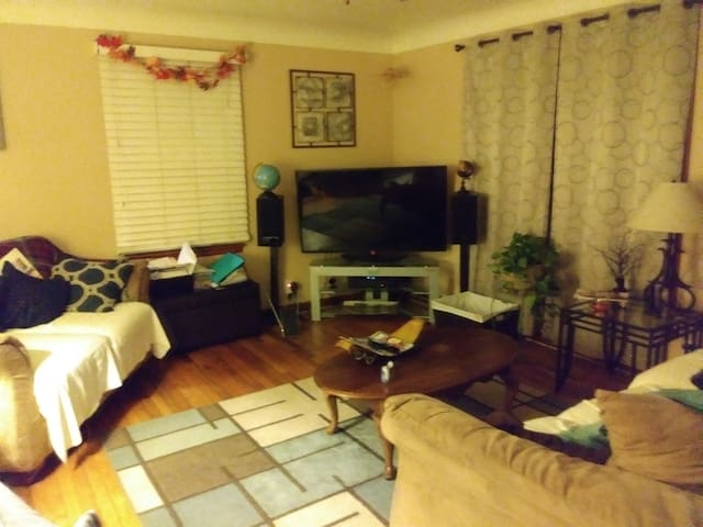 Safe&Cozy partial home 10min from The Stadium