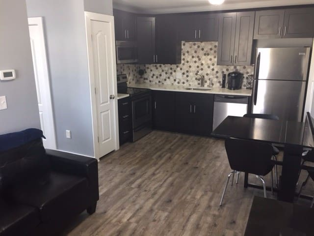 Kitchen/living area - complete with a Keurig!