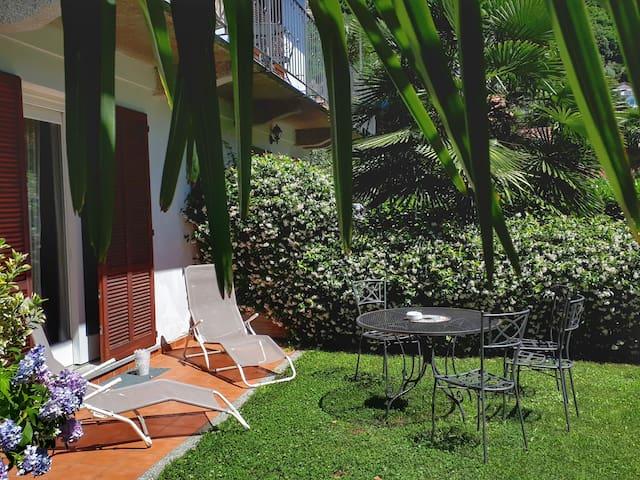 Appartamento con giardino nel centro storico