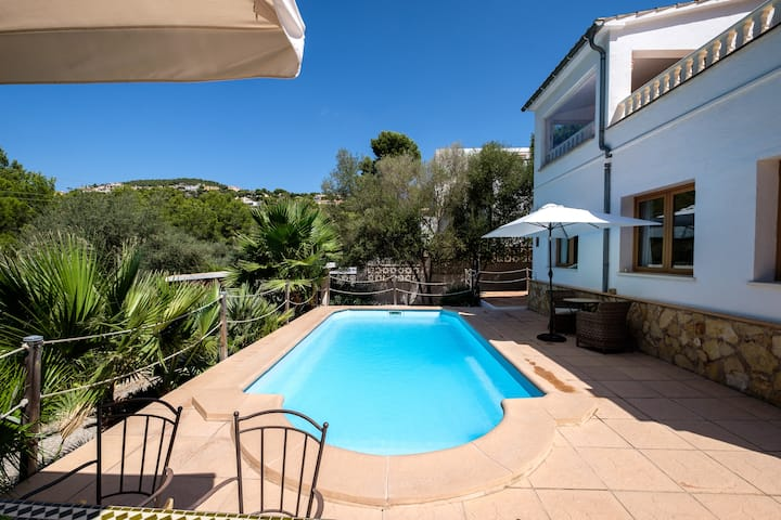 VILLA MARPESSA OASIS IN PORTALS NOUS WITH POOL