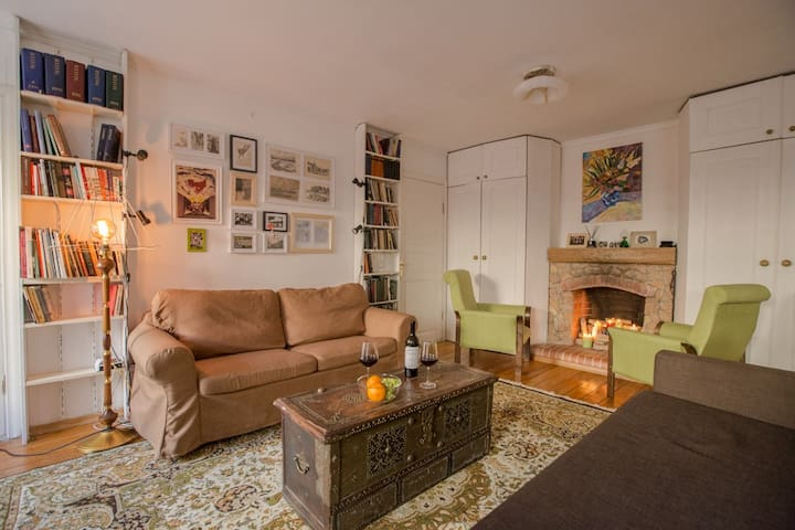 Large 1br apt with patio. Location!