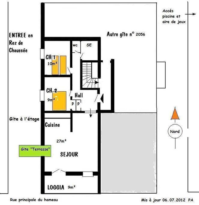 Plan du logement