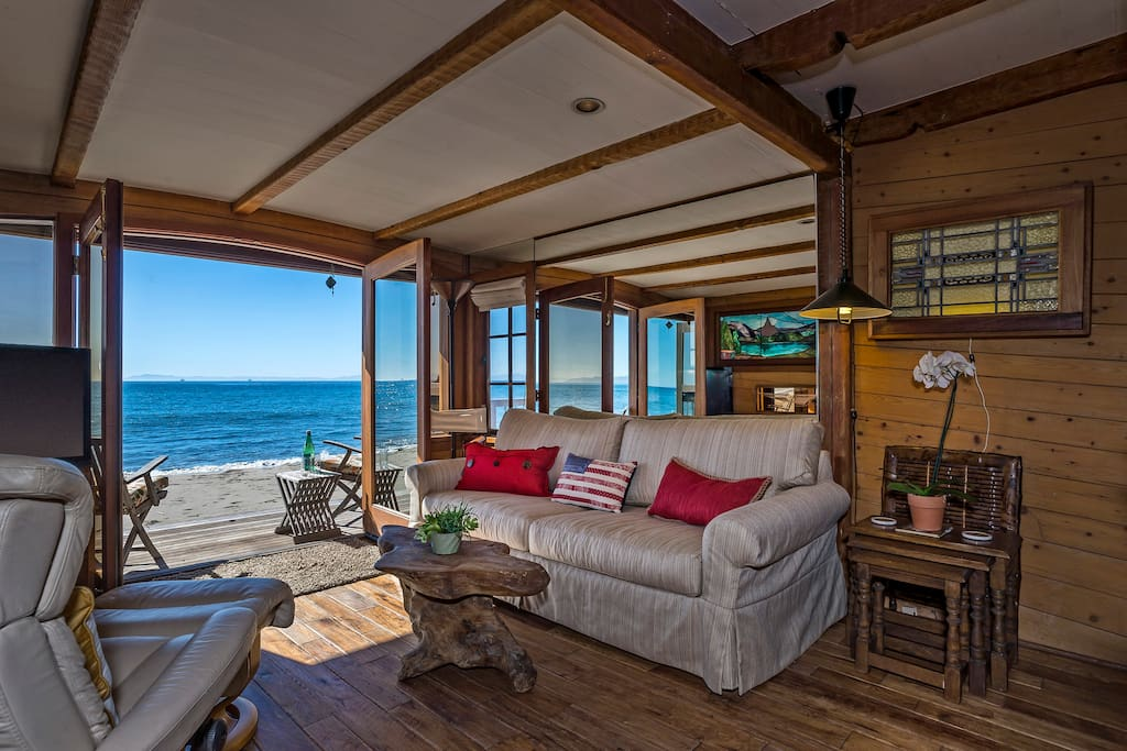 Boathouse at Miramar Lower Unit - Look at those ocean views!