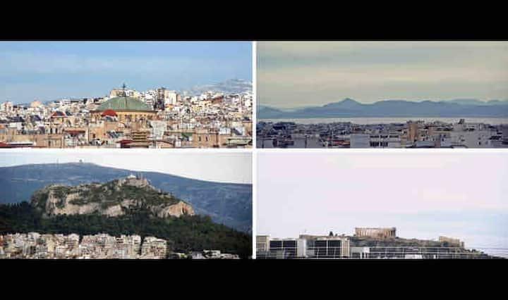 Acropolis & Lycavettus View Roof House