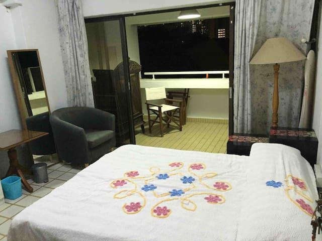 Balcony room at Braddell hill