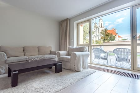 Luxury Down Town apartment, Terrace and Parking - Vilnius